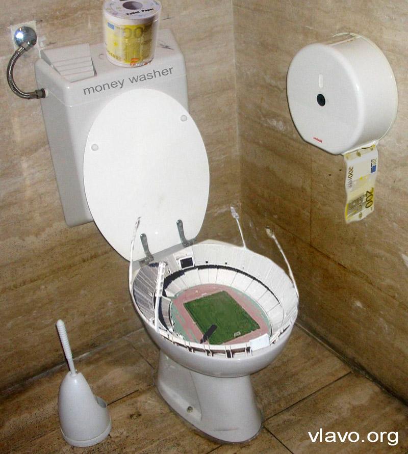 Toilet-Football