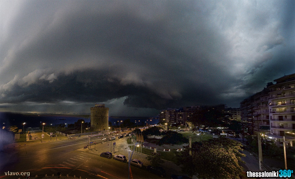 supercell-Thessaloniki